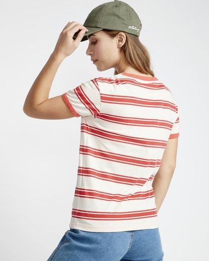 4 Ringer - T-Shirt für Frauen  Q3SS08BIF9 Billabong