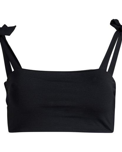 5 Sol Searcher - Top de Bikini Tie Tank para Mujer Negro Q3ST02BIF9 Billabong