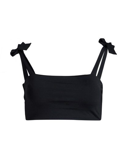 4 Sol Searcher - Top de Bikini Tie Tank para Mujer Negro Q3ST02BIF9 Billabong