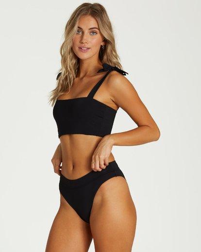 3 Sol Searcher - Top de Bikini Tie Tank para Mujer Negro Q3ST02BIF9 Billabong