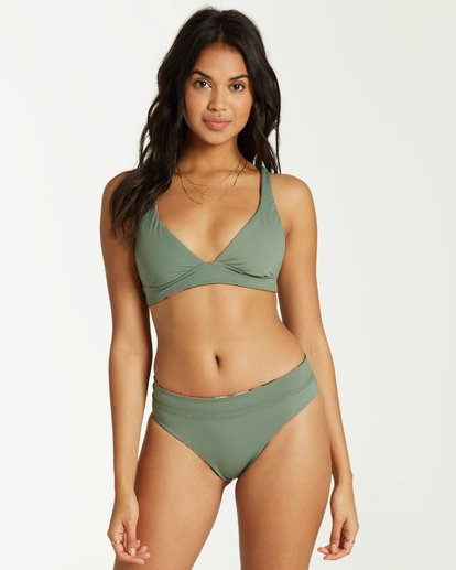 10 Tropic Nights - Top de Bikini Triangular para Mujer  Q3ST04BIF9 Billabong