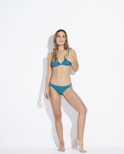 0 Tanlines Fixed - Top de Bikini Triangular Fijo para Mujer Azul Q3ST07BIF9 Billabong