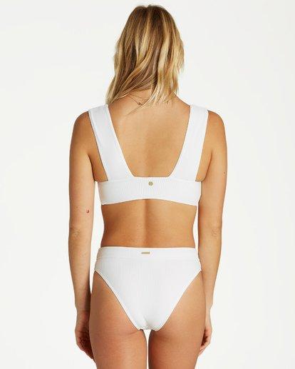 2 Too Salty Plunge - Top de Bikini para Mujer Blanco Q3ST51BIMU Billabong