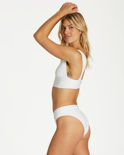 3 Too Salty Plunge - Top de Bikini para Mujer Blanco Q3ST51BIMU Billabong
