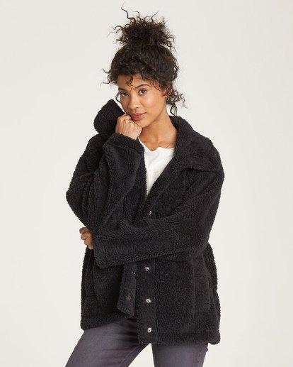 1 Cozy Days - Chaqueta Térmica para Mujer Negro Q3WA04BIF9 Billabong