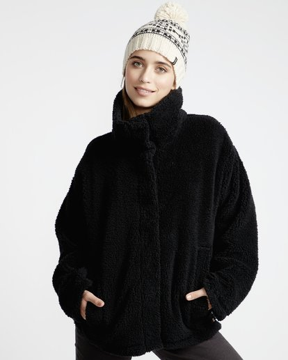 2 Cozy Days - Chaqueta Térmica para Mujer Negro Q3WA04BIF9 Billabong
