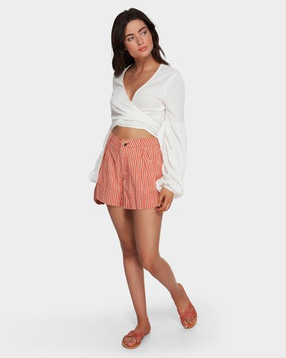 3 Candy - Short für Frauen Rosa Q3WK30BIMU Billabong