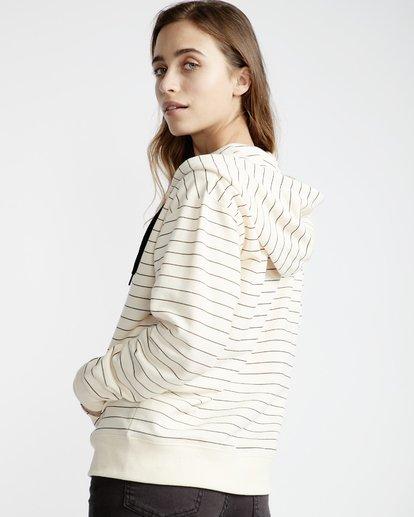 1 Beach Day - Zip Hood Pullover für Frauen Weiss Q3ZH01BIF9 Billabong