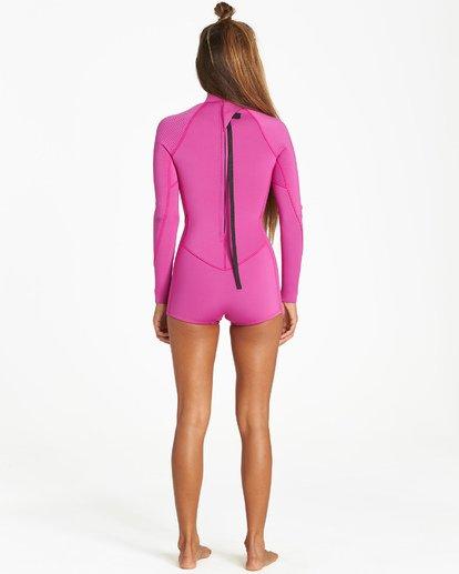 1 Spring Fever - Traje de Surf de Primavera para Mujer Rosa Q42G03BIF9 Billabong
