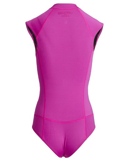 4 Peeky - Jacket Wetsuit for Women Pink Q42G05BIF9 Billabong