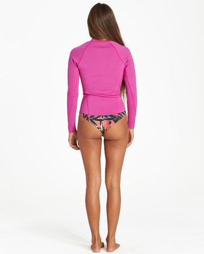 1 Peeky - Jacket Wetsuit for Women Pink Q42G05BIF9 Billabong