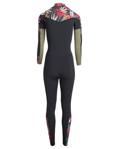 4 Salty Dayz 3/2 - Traje de Surf Integral para Mujer Multicolor Q43G01BIF9 Billabong