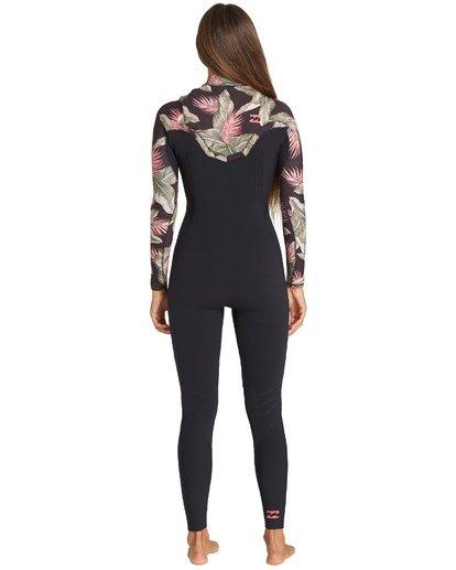 2 3/2mm Furnace Carbon GBS - Chest Zip Fullsuit Wetsuit for Women Black Q43G02BIF9 Billabong