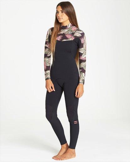 3 3/2mm Furnace Carbon GBS - Chest Zip Fullsuit Wetsuit for Women Black Q43G02BIF9 Billabong