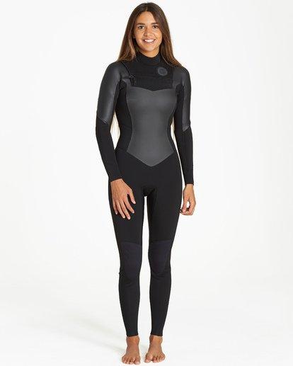 0 Salty Dayz 3/2 - Traje de Surf Integral para Mujer Azul Q43G75BIF9 Billabong