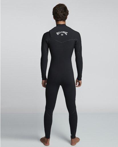 2 3/2mm Furnace Ultra  - Chest Zip Neoprenanzug für Männer Schwarz Q43M02BIF9 Billabong
