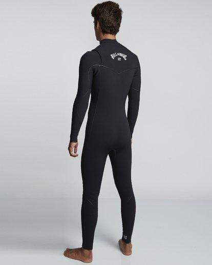 4 3/2mm Furnace Ultra  - Chest Zip Neoprenanzug für Männer Schwarz Q43M02BIF9 Billabong