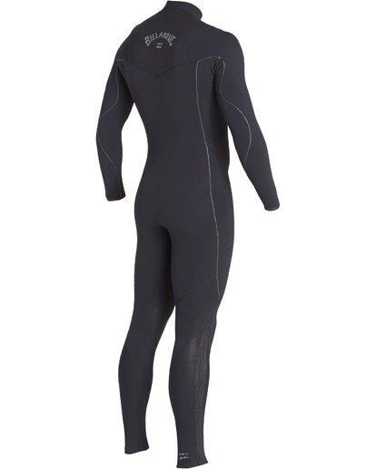 14 3/2mm Furnace Comp GBS - Chest Zip Fullsuit Neoprenanzug für Männer Schwarz Q43M03BIF9 Billabong
