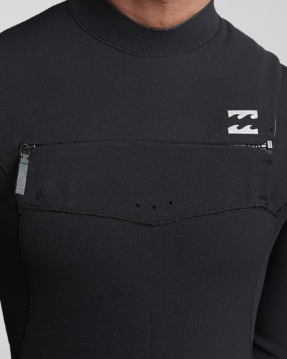 5 3/2mm Furnace Comp GBS - Chest Zip Fullsuit Neoprenanzug für Männer Schwarz Q43M03BIF9 Billabong