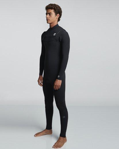 3 3/2mm Furnace Comp GBS - Chest Zip Fullsuit Neoprenanzug für Männer Schwarz Q43M03BIF9 Billabong