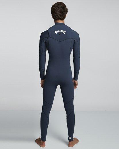 2 3/2mm Furnace Comp GBS - Chest Zip Fullsuit Neoprenanzug für Männer Blau Q43M03BIF9 Billabong