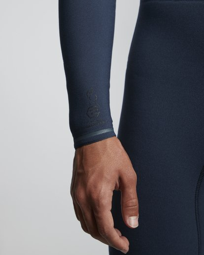 6 3/2mm Furnace Comp GBS - Chest Zip Fullsuit Neoprenanzug für Männer Blau Q43M03BIF9 Billabong