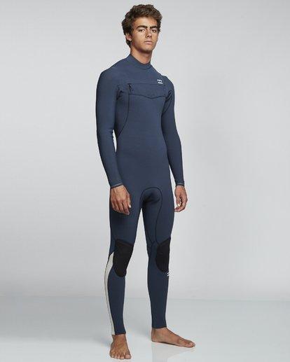 1 3/2mm Furnace Comp GBS - Chest Zip Fullsuit Neoprenanzug für Männer Blau Q43M03BIF9 Billabong