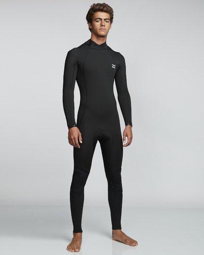 1 3/2mm Furnace Absolute GBS - Traje de Surf Integral con Manga Larga y Cremallera en la Espalda para Hombre Negro Q43M09BIF9 Billabong