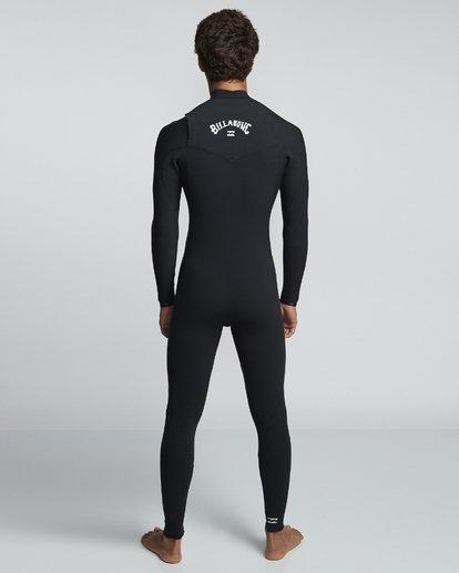 2 3/2mm Furnace Pro  - Pro Chest Zip Fullsuit Neoprenanzug für Männer Schwarz Q43M80BIF9 Billabong