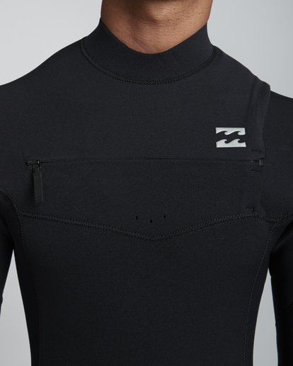 5 3/2mm Furnace Pro  - Pro Chest Zip Fullsuit Neoprenanzug für Männer Schwarz Q43M80BIF9 Billabong