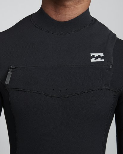 5 3/2mm Furnace Pro - Neoprenanzug mit Chest-Zip für Herren Schwarz Q43M80BIF9 Billabong
