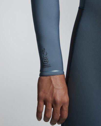 4 3/2mm Furnace Revolution - Chest Zip Langärmeliger Fullsuit Neoprenanzug für Männer Blau Q43M81BIF9 Billabong