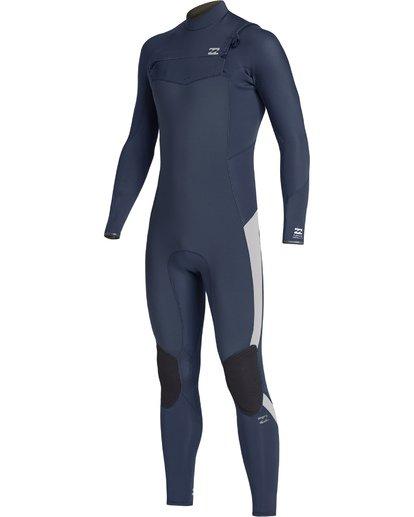 0 4/3mm Furnace Absolute GBS - Traje de Surf con Manga Larga y Cremallera en la Espalda para Chicos Azul Q44B03BIF9 Billabong