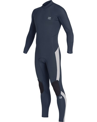 1 4/3mm Furnace Absolute GBS - Back Zip Langärmeliger Fullsuit Neoprenanzug für Jungen Blau Q44B03BIF9 Billabong
