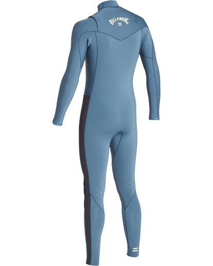 5 4/3mm Furnace Revolution - Chest Zip Langärmeliger Fullsuit Neoprenanzug für Jungen Blau Q44B75BIF9 Billabong