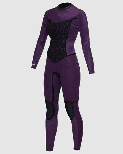 2 4/3mm Furnace Synergy GBS - Back Zip Fullsuit Neoprenanzug für Frauen Schwarz Q44G04BIF9 Billabong
