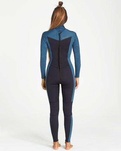 3 4/3mm Furnace Synergy GBS - Back Zip Fullsuit Neoprenanzug für Frauen Schwarz Q44G04BIF9 Billabong