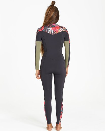 2 Salty Dayz 4/3 - Traje de Surf Integral para Mujer Multicolor Q44G30BIF9 Billabong