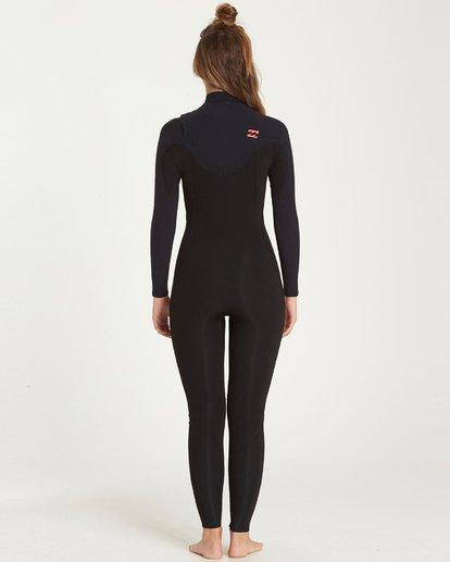 1 4/3mm Furnace Carbon GBS - Chest Zip Fullsuit Neoprenanzug für Frauen Schwarz Q44G31BIF9 Billabong