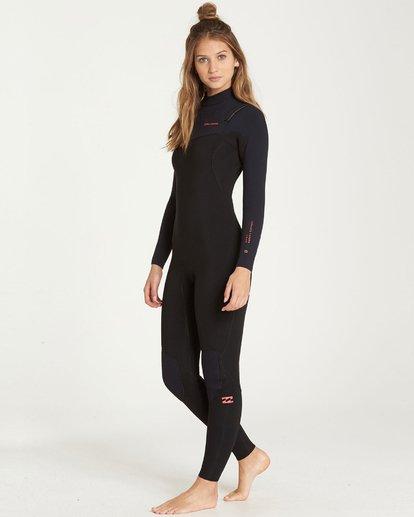 2 4/3mm Furnace Carbon GBS - Chest Zip Fullsuit Neoprenanzug für Frauen Schwarz Q44G31BIF9 Billabong
