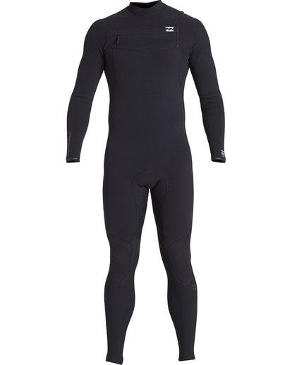 9 4/3mm Furnace Comp GBS - Chest Zip Fullsuit Neoprenanzug für Männer Schwarz Q44M03BIF9 Billabong