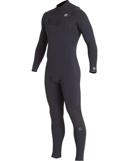 12 4/3mm Furnace Comp GBS - Chest Zip Fullsuit Neoprenanzug für Männer Schwarz Q44M03BIF9 Billabong