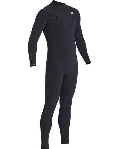 13 4/3mm Furnace Comp GBS - Chest Zip Fullsuit Neoprenanzug für Männer Schwarz Q44M03BIF9 Billabong