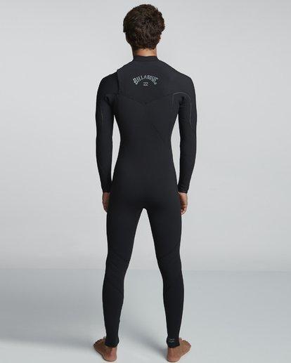 2 4/3mm Furnace Comp GBS - Chest Zip Fullsuit Neoprenanzug für Männer Schwarz Q44M03BIF9 Billabong