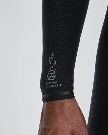 7 4/3mm Furnace Comp GBS - Chest Zip Fullsuit Neoprenanzug für Männer Schwarz Q44M03BIF9 Billabong