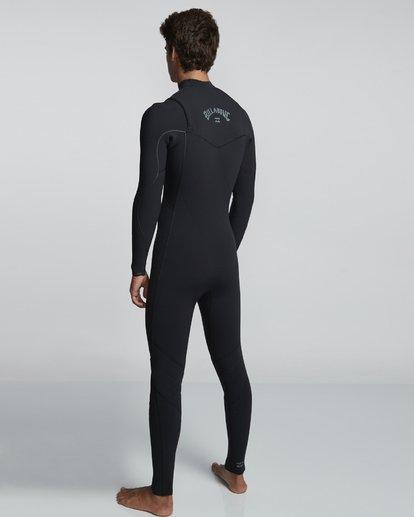 4 4/3mm Furnace Comp GBS - Chest Zip Fullsuit Neoprenanzug für Männer Schwarz Q44M03BIF9 Billabong