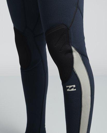 7 4/3mm Furnace Comp GBS - Chest Zip Fullsuit Neoprenanzug für Männer Blau Q44M03BIF9 Billabong