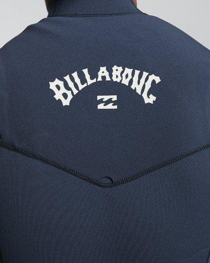 8 4/3mm Furnace Comp GBS - Chest Zip Fullsuit Neoprenanzug für Männer Blau Q44M03BIF9 Billabong