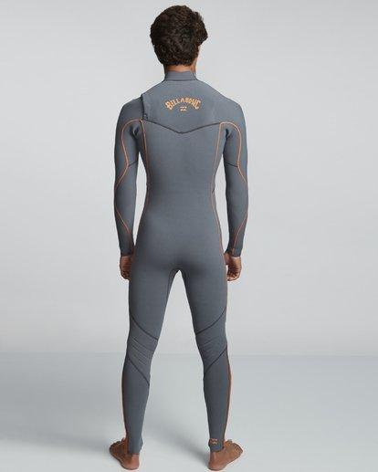2 4/3mm Furnace Comp GBS - Chest Zip Fullsuit Neoprenanzug für Männer  Q44M03BIF9 Billabong