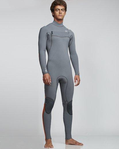 1 4/3mm Furnace Comp GBS - Chest Zip Fullsuit Neoprenanzug für Männer  Q44M03BIF9 Billabong
